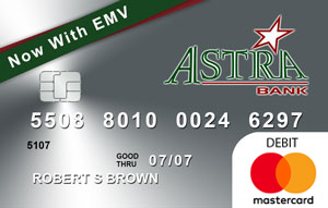 Business Debit Card with EMV Chip